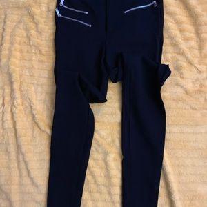 Sexy fit Black ZARA stretch pants Sz S
